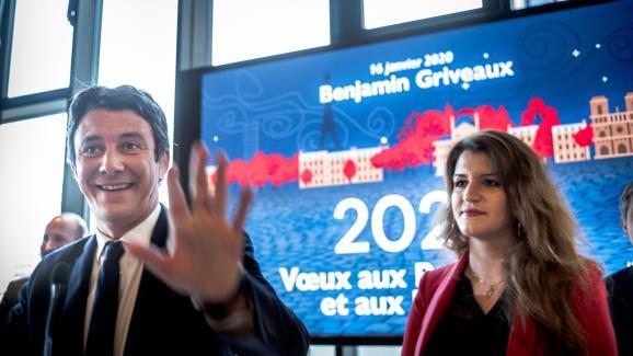 """A Paris, la secrétaire d\'Etatchargée de l\'Egalité entre les femmes et les hommes, Marlène Schiappa, sera candidate dans le 14e arrondissement \""""pour soutenir Benjamin Griveaux\""""."""