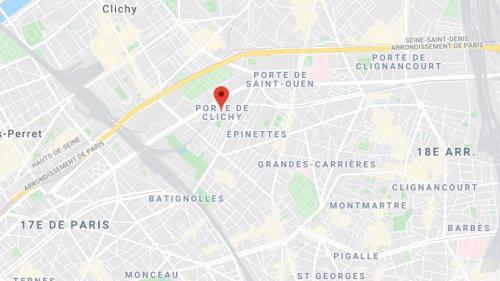 Paris : un cycliste meurt dans un accident de la route porte de Clichy