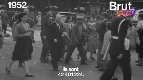 VIDEO. En 1952, la France apprenait qu'elle comptait 42 millions d'habitants