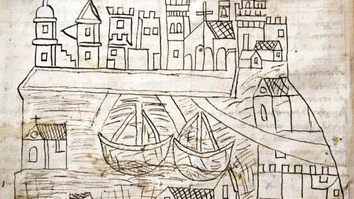 Une historienne découvre la plus ancienne vue de Venise, un dessin datant du XIVe siècle