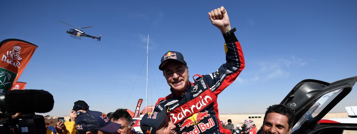 Dakar 2020 : l'Espagnol Carlos Sainz (Mini) remporte la course pour la troisième fois