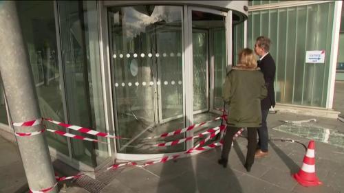 Une manifestation dégénère au Havre, un policier blessé