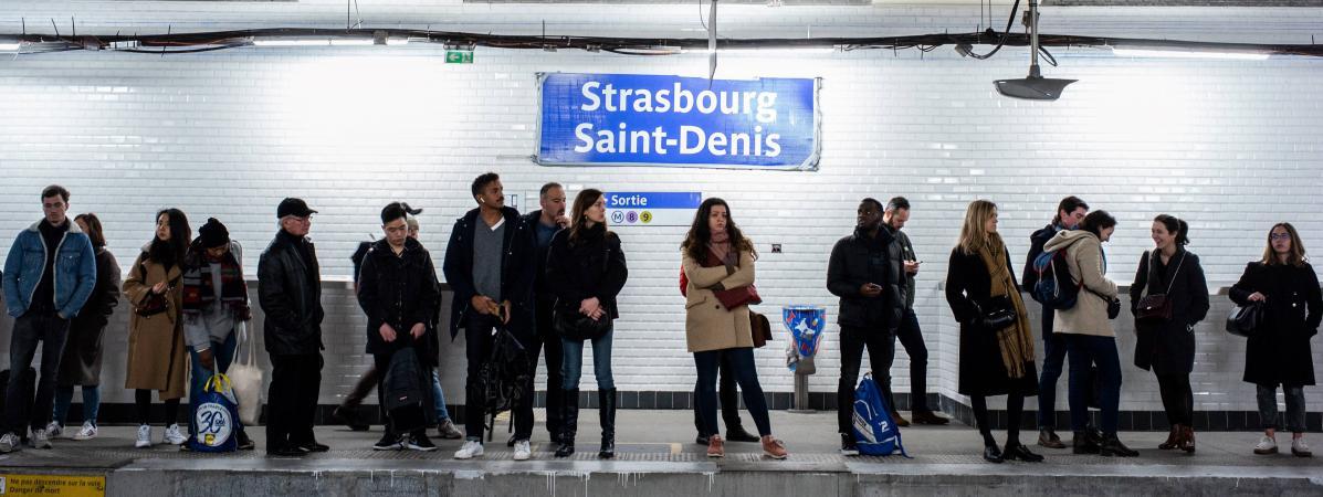 Grève du 19 janvier : la RATP annonce un trafic en net progrès pour un dimanche, les RER A et B et onze lig...