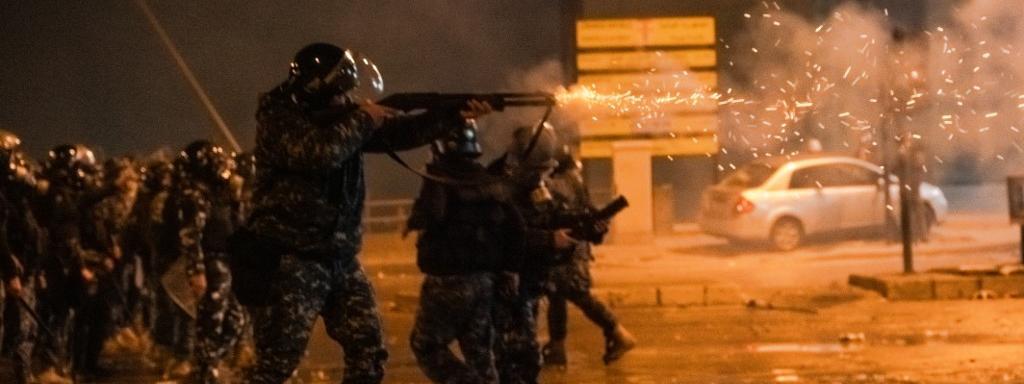 Liban : des heurts entre manifestants et forces de l'ordre font près de 400 blessés