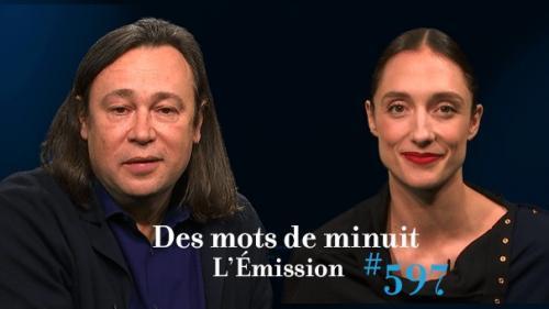 Dorothée Gilbert et Stéphane Braunschweig. L'Opéra et l'Odéon sur Des mots de minuit