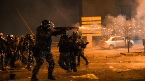 Liban: des heurts entre manifestants et forces de l'ordre font près de 400blessés