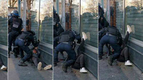 Les avocats du manifestant frappé au sol à Paris dénoncent le traitement infligé à leur client, déféré au parquet
