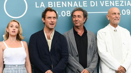 """Ludivine Sagnier dans """"The New Pope"""" sur Canal Plus : """"C'était comme un tournage pour le cinéma"""""""