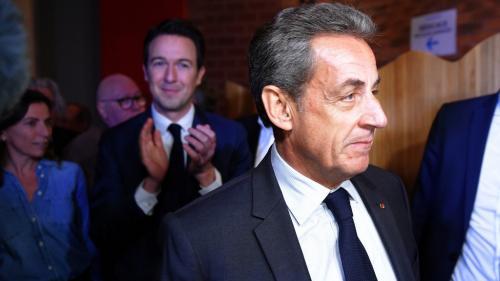 """Nicolas Sarkozy fustige le """"soulèvement partisan et la violence sociale"""" de ceux qui veulent """"allumer partout des feux de haine et de discorde"""""""
