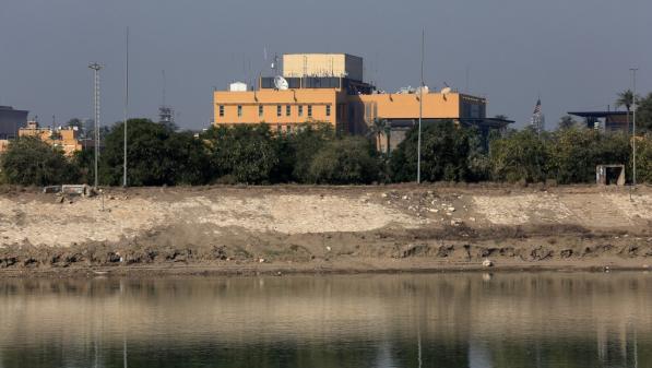 Irak : trois roquettes tirées près de l'ambassade américaine à Bagdad, pas de victime