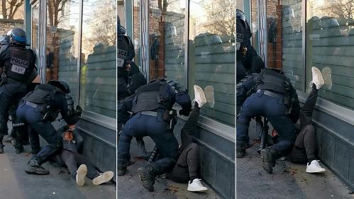 Manifestant frappé au sol à Paris : non, le sida ne se transmet pas en crachant de la salive et du sang au visage