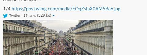 Une photo de la manifestation anti-PMA à Paris a-t-elle été retouchée pour gonfler la mobilisation ?