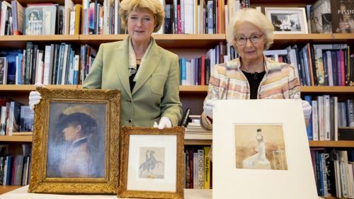 Trois œuvres d'art volées par les nazis à un collectionneur d'art français de confession juive rendues à ses héritiers