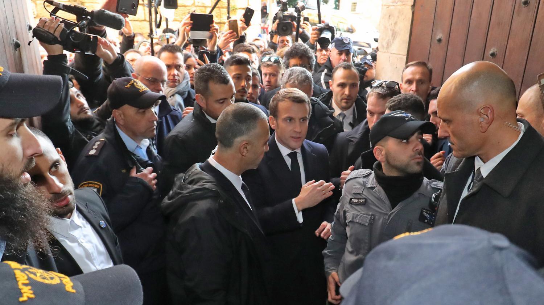 VIDEO. «Personne n'a à provoquer personne» : le coup de sang de Macron à Jérusalem rappelle celui de Chirac en 1996