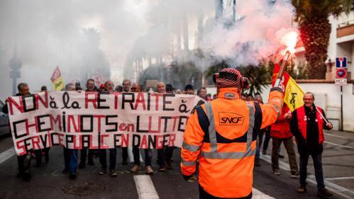 Transports à l'arrêt, manifestations... Le point sur les actions syndicales prévues demain pour protester contre la réforme des retraites