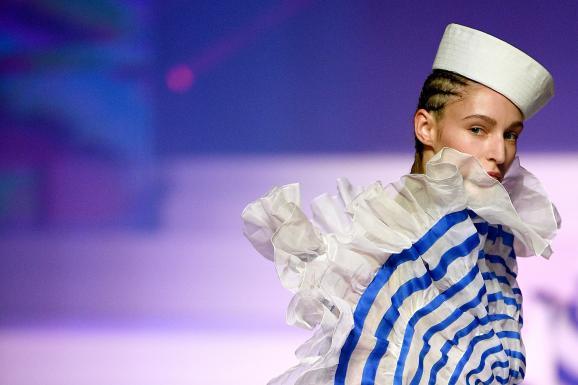 Défilé Jean Paul Gaultier haute couture printemps-été 2020 le 22 janvier 2020 au théâtre du Châtelet à Paris