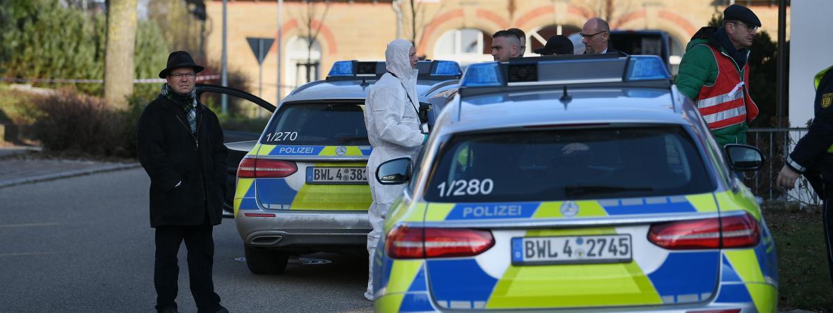 Allemagne : une fusillade fait six morts et deux blessés graves près de Stuttgart dans le sud du pays