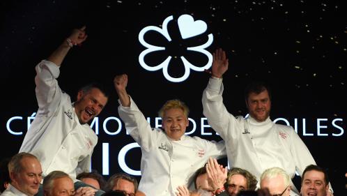 Guide Michelin : trois nouveaux restaurants récompensés de trois étoiles en France