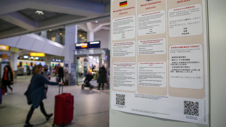 Allemagne: le premier cas de coronavirus 2019-nCoV confirmé le 28 janvier