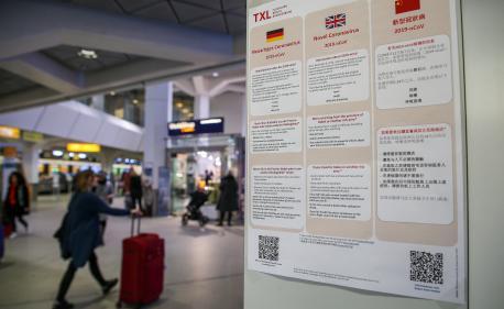 DIRECT. Coronavirus : premier cas confirmé en Allemagne, l'épidémie fait 106 morts en Chine