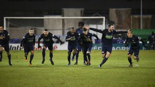 Coupe de France : Belfort réalise un exploit contre Montpellier, Rennes et Dijon ont eu chaud