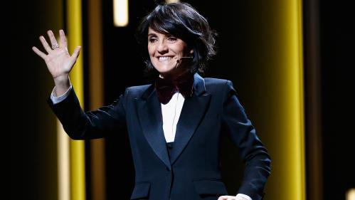 """César 2020 : Florence Foresti annonce la nomination de """"Roman Polanski pour 'Je suis accus…'"""" et fait grincer des dents"""