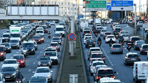 Les Franciliens ont perdu 163 heures à cause des embouteillages en 2019