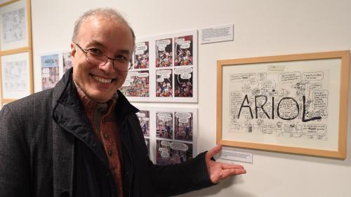 """Le Grand Prix d'Angoulême est attribué à Emmanuel Guibert, auteur des BD """"Le Photographe"""" et """"Sardine de l'espace"""""""