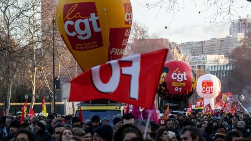 Réforme des retraites : l'intersyndicale appelle à une nouvelle journée de grève et de manifestations le 6 février