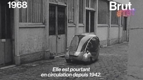 VIDEO. Déjà en 1942, la voiture électrique circulait dans les rues françaises