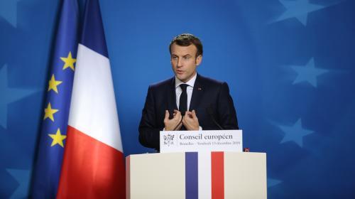 """VIDEO. """"C'est un jour triste"""", déclare Emmanuel Macron à quelques heures du Brexit"""