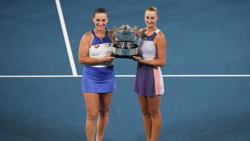 Tennis : la Française Kristina Mladenovic et la Hongroise Timea Babos remportent l'Open d'Australie en double