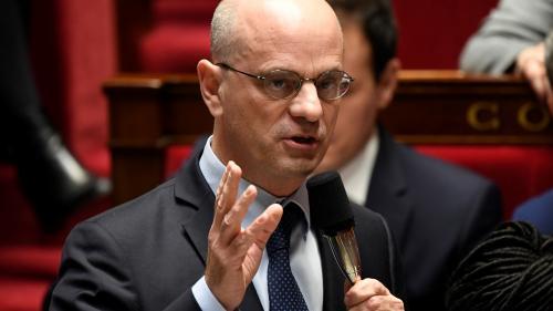"""Contrôle continu du bac : il n'y a """"aucune justification"""" aux violences, estime Jean-Michel Blanquer"""