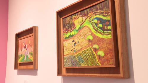 A Nice, le musée d'art naïf Anatole Jakovsky voit la vie en rose... mais pas seulement