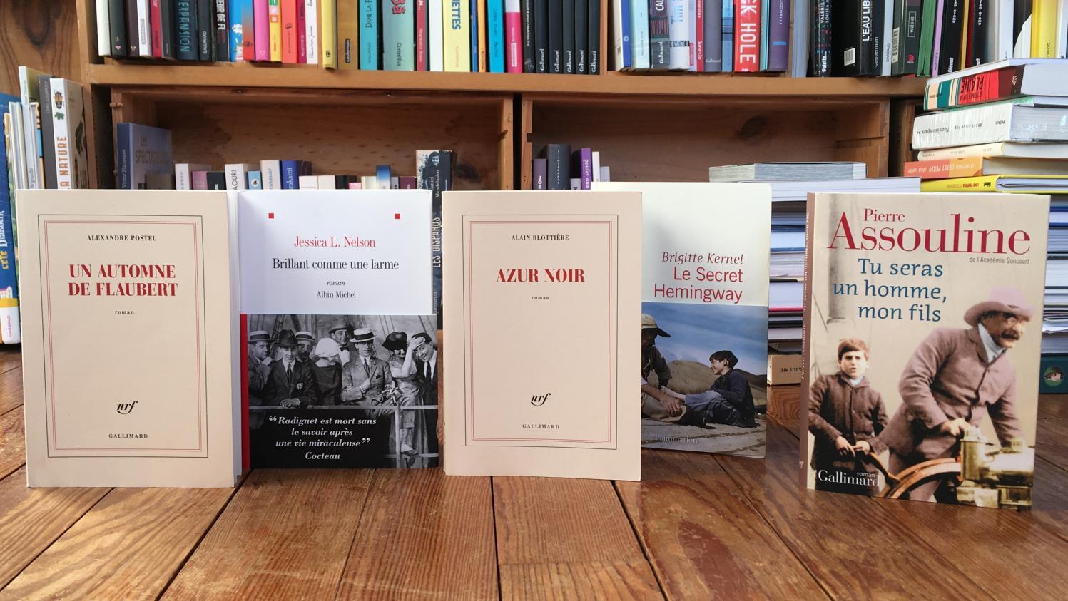 Flaubert, Rimbaud, Verlaine, Kipling, Hemingway, Radiguet : cinq romans pour se plonger avec délice dans la vie d'écrivains célèbres