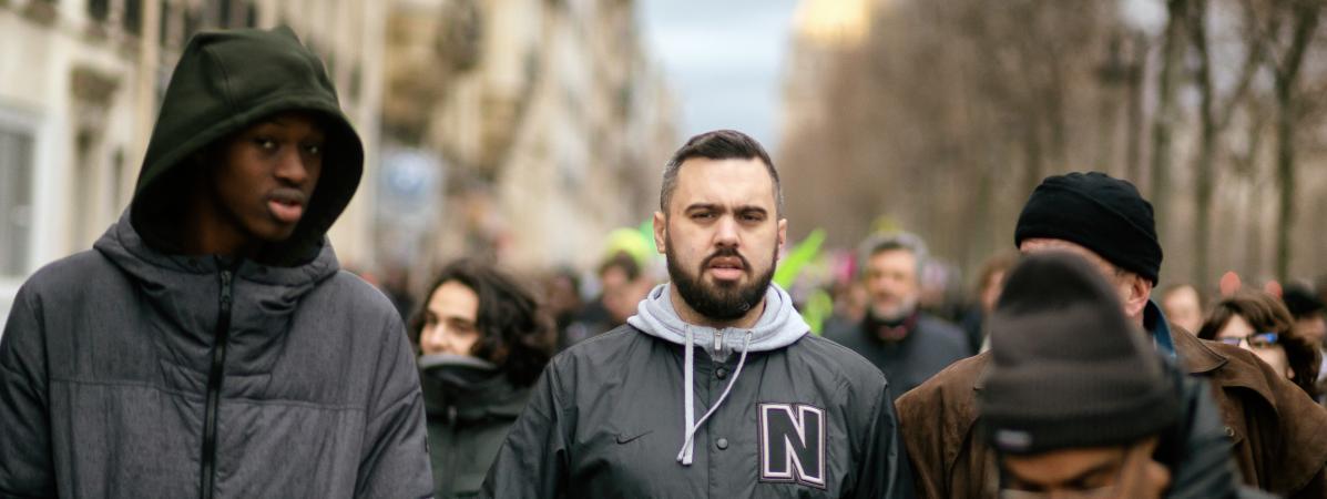 Eric Drouet, le 14 janvier 2020, à Paris.