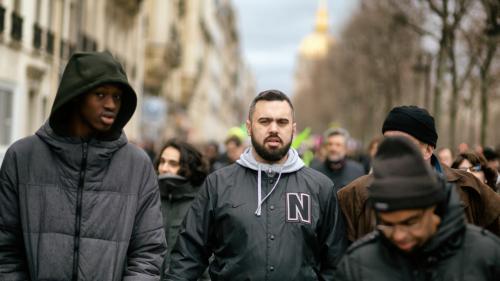 """Manifestation de """"gilets jaunes"""" interdite à Paris : 116 personnes verbalisées, dont EricDrouet, l'une des figures du mouvement"""