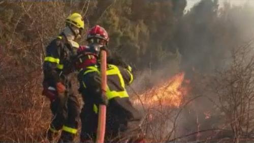 Tempête Ciara : le vent attise les incendies en Corse