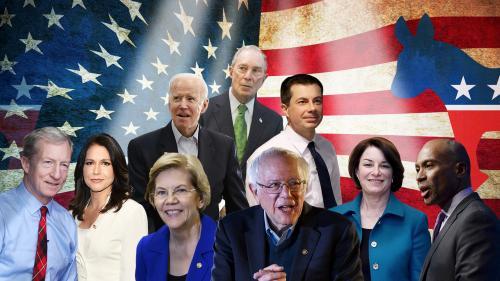 Présidentielle américaine : après deux abandons, qui sont les neuf candidats restants aux primaires démocrates ?