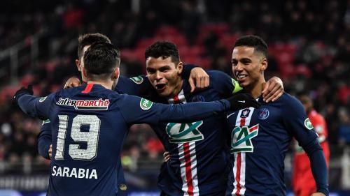 Coupe de France : le PSG écarte tranquillement Dijon et se qualifie pour les demi-finales