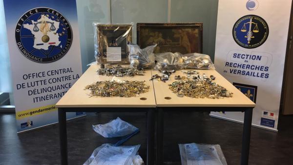 Démantèlement d'un réseau de cambrioleurs qui allait en Belgique faire fondre des bijoux volés en Île-de-France