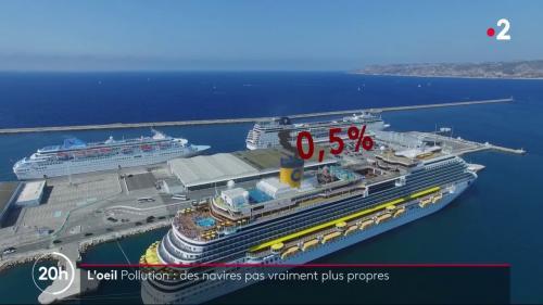 VIDEO. Moins de pollution dans l'air mais davantage dans la mer : comment des milliers de bateaux s'adaptent à une nouvelle réglementation