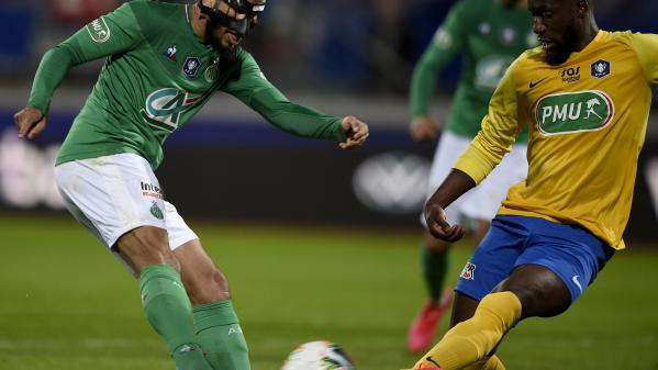 Coupe de France : Saint-Etienne bat Epinal et rejoint le dernier carré de la compétition
