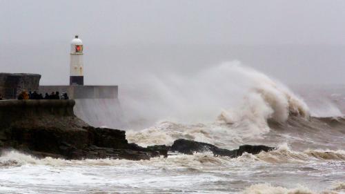Tempête Dennis : le Finistère et le Morbihan placés en vigilance orange à la pluie et aux inondations