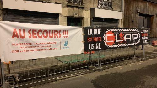 Seine-Saint-Denis : les cuisines de Deliveroo bloquées pour la Saint-Valentin par des livreurs
