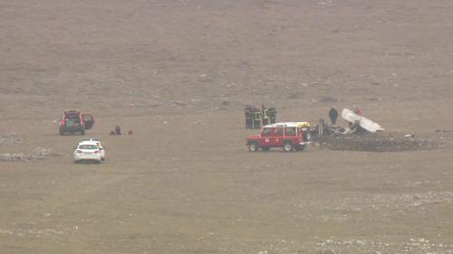Aveyron : quatre morts dans le crash d'un avion de tourisme sur le plateau du Larzac