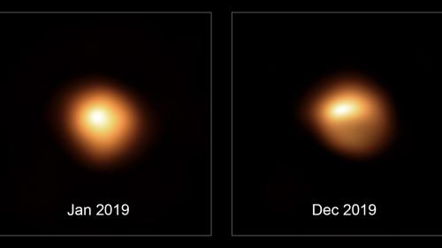 Que se passe-t-il avec l'étoile Bételgeuse, l'une des plus brillantes de la Voie lactée, qui perd de sa luminosité ?