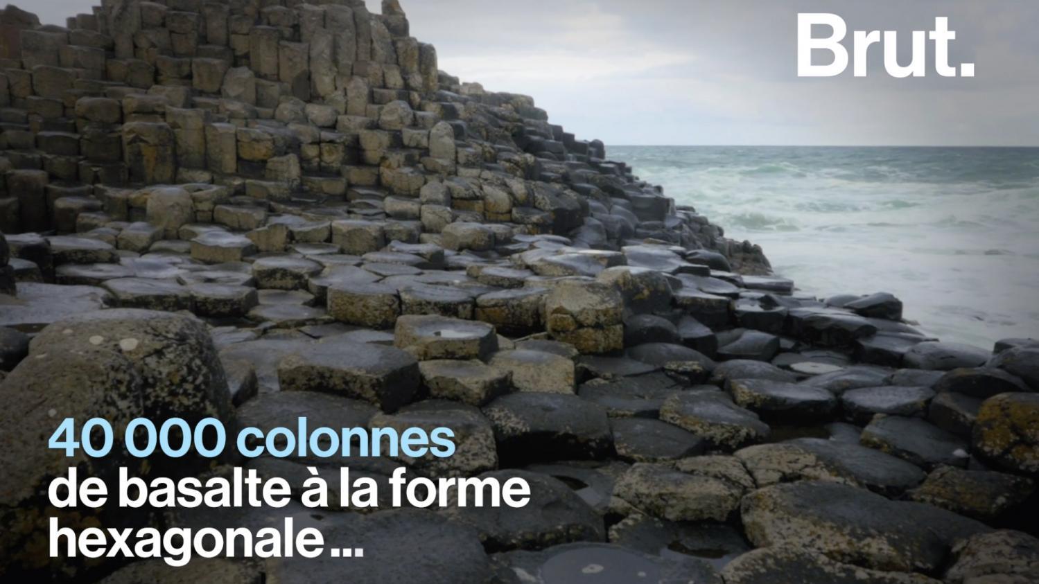 VIDEO. La Chaussée des Géants, une impressionnante curiosité naturelle en Irlande du Nord