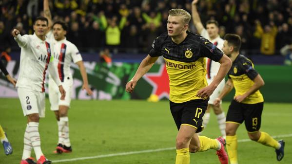 Dortmund et son prodige Haaland ont surclassé le PSG et ses stars Mbappé et Neymar