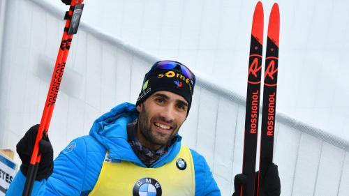 Biathlon : Martin Fourcade remporte un 11e titre mondial individuel et égale le record d'Ole-Einar Bjoerndalen